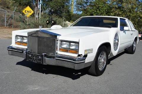 1982 Cadillac Eldorado for sale at 1 Owner Car Guy in Stevensville MT