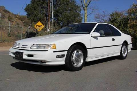 1989 Ford Thunderbird for sale at 1 Owner Car Guy in Stevensville MT
