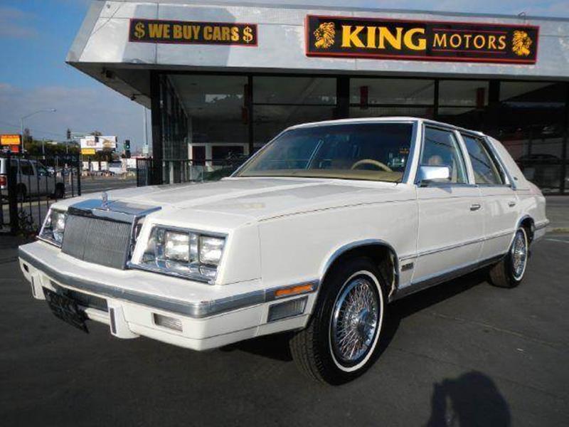 1987 chrysler new yorker in stevensville mt 1 owner car guy 1987 chrysler new yorker in
