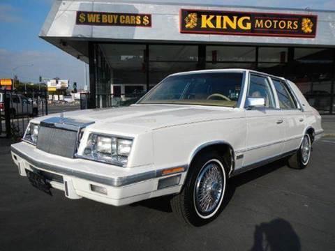 1987 Chrysler New Yorker for sale at 1 Owner Car Guy in Stevensville MT