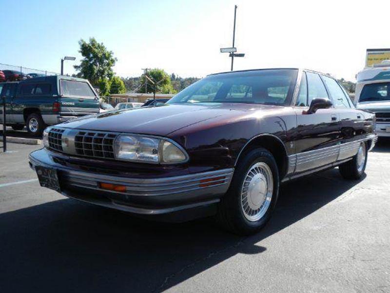 1991 Oldsmobile Ninety-Eight for sale at 1 Owner Car Guy in Stevensville MT