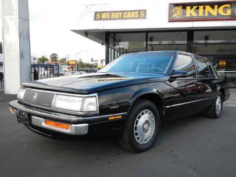 1987 Buick Electra for sale at 1 Owner Car Guy in Stevensville MT