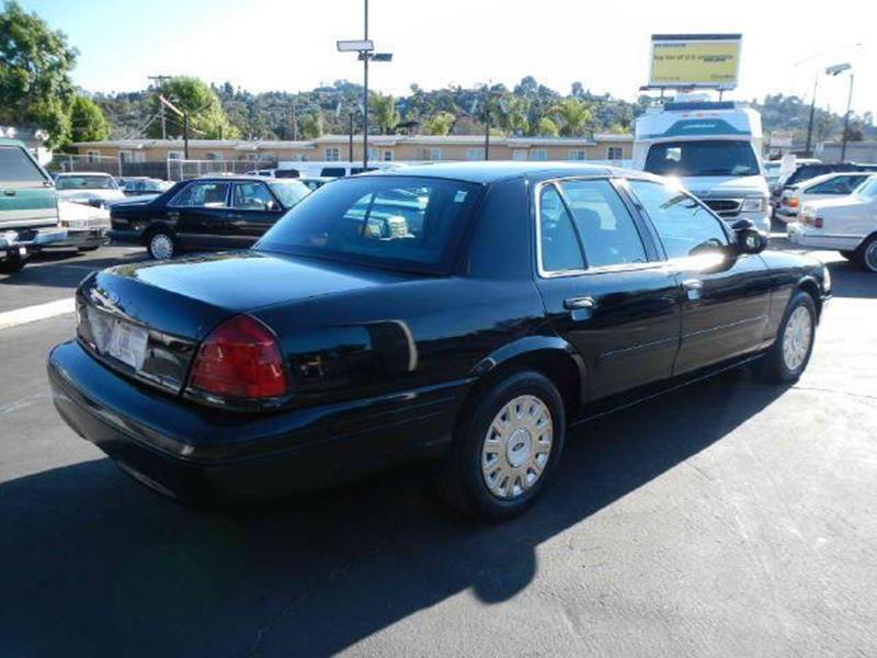 Ford Crown Victoria P Police Interceptor In El Cajon CA - 2004 crown victoria
