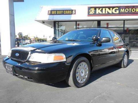 2004 Ford Crown Victoria for sale at 1 Owner Car Guy in Stevensville MT