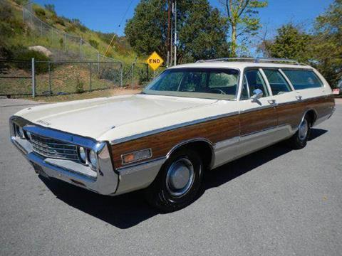 1970 Chrysler Town and Country for sale at 1 Owner Car Guy in Stevensville MT