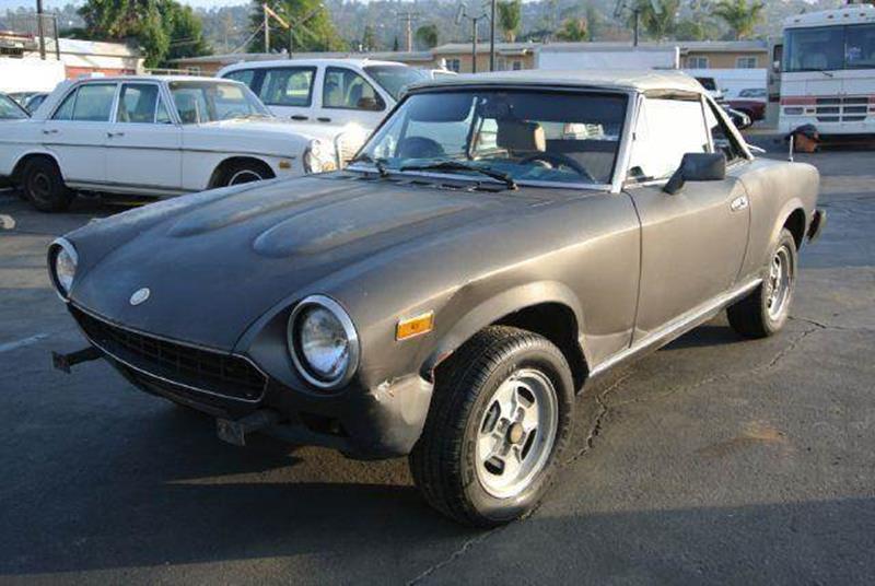 1980 FIAT Pininfarina for sale at 1 Owner Car Guy in Stevensville MT