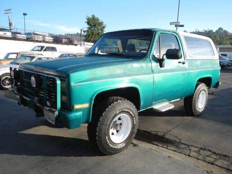 1986 Chevrolet Blazer for sale at 1 Owner Car Guy in Stevensville MT