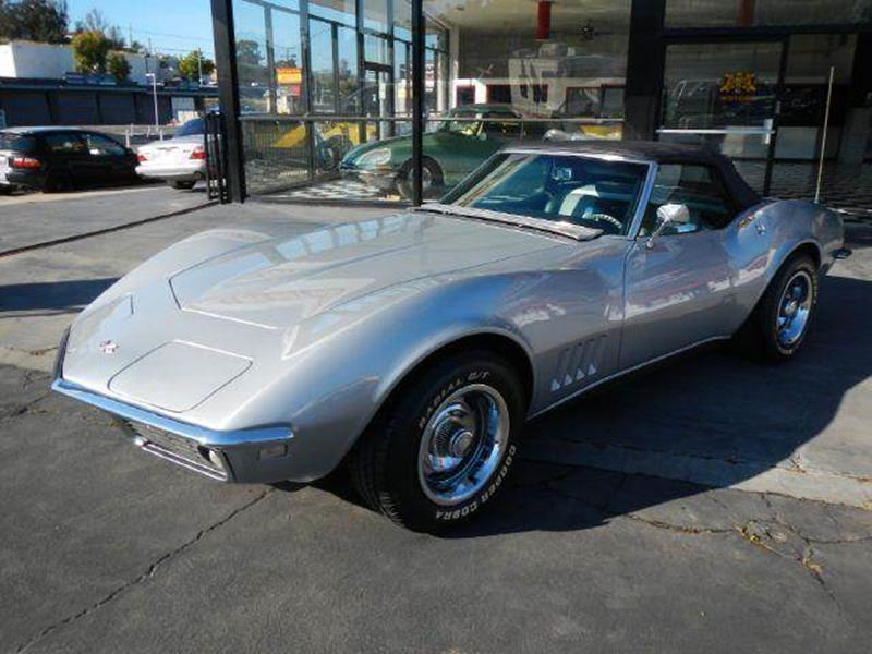 1968 Chevrolet Corvette Stingray Roadster   El Cajon CA