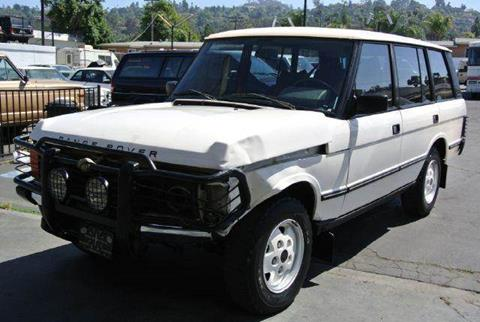 1993 Land Rover Range Rover for sale at 1 Owner Car Guy in Stevensville MT