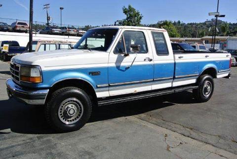 1992 Ford F-250 for sale at 1 Owner Car Guy in Stevensville MT