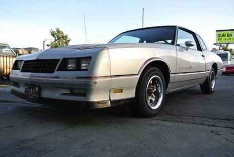 1985 Chevrolet Monte Carlo for sale at 1 Owner Car Guy in Stevensville MT