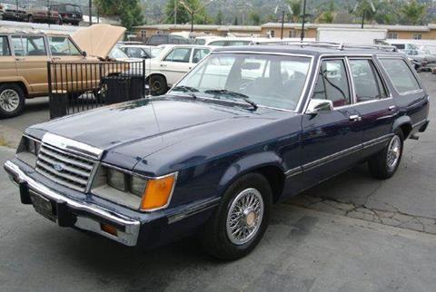 1985 Ford LTD for sale at 1 Owner Car Guy in Stevensville MT