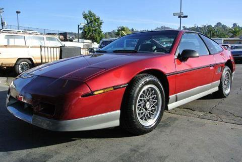 1987 Pontiac Fiero for sale at 1 Owner Car Guy in Stevensville MT
