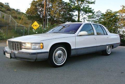 1996 Cadillac Fleetwood for sale at 1 Owner Car Guy in Stevensville MT