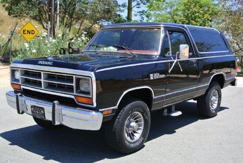 1987 Dodge Ramcharger In El Cajon CA - 1 Owner Car Guy