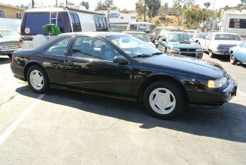 1993 ford thunderbird super coupe in el cajon ca 1 owner car guy. Black Bedroom Furniture Sets. Home Design Ideas