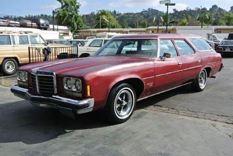1974 Pontiac Catalina for sale at 1 Owner Car Guy in Stevensville MT