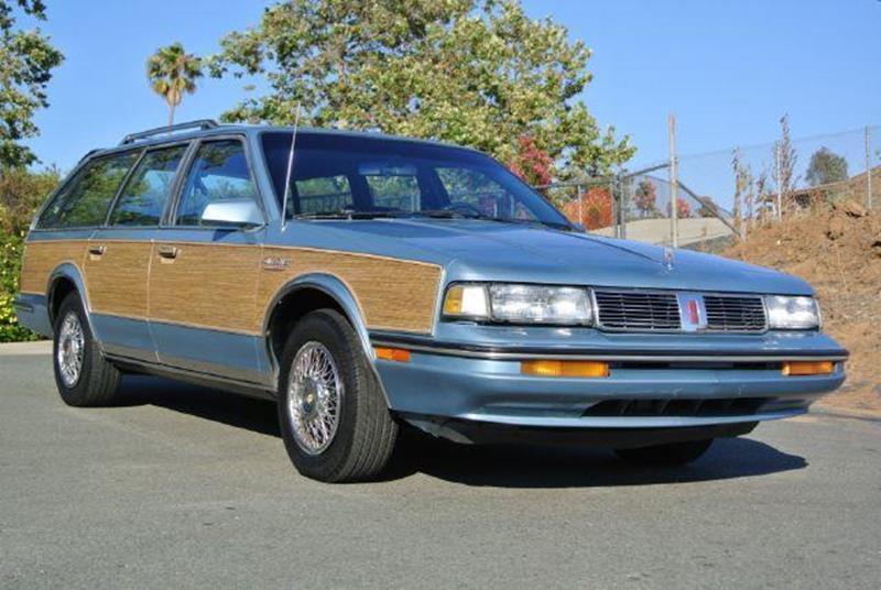 1987 Oldsmobile Cutlass Ciera Brougham Cruiser In El Cajon CA - 1