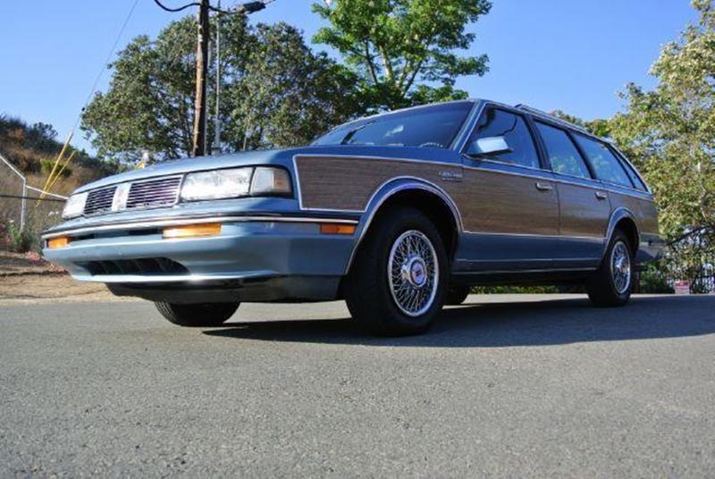 1987 Oldsmobile Cutlass Ciera Brougham Cruiser In El Cajon