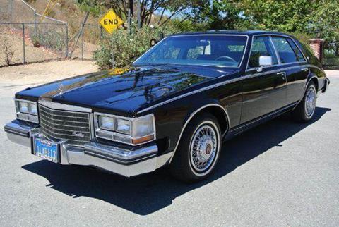 1985 Cadillac Seville for sale at 1 Owner Car Guy in Stevensville MT