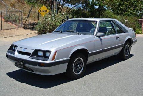 1986 Ford Mustang for sale at 1 Owner Car Guy in Stevensville MT