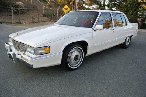 1990 Cadillac Fleetwood for sale at 1 Owner Car Guy in Stevensville MT