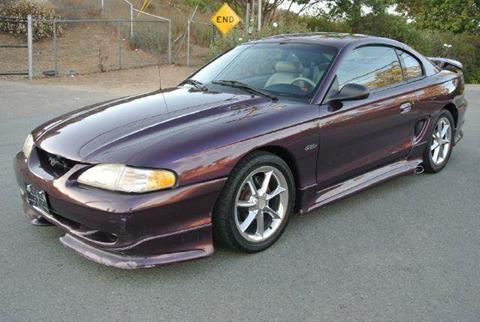 1997 Ford Mustang for sale at 1 Owner Car Guy in Stevensville MT