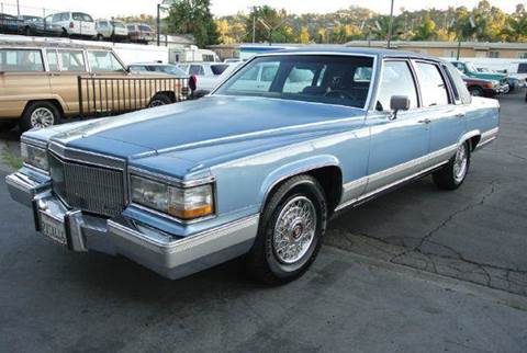 1990 Cadillac Brougham for sale at 1 Owner Car Guy in Stevensville MT