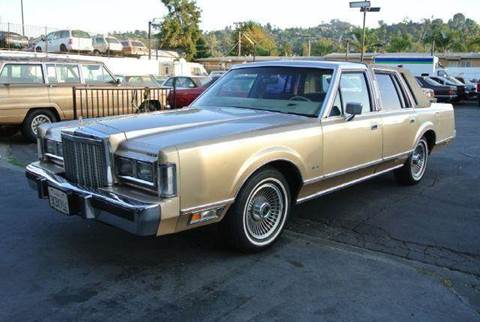 1985 Lincoln Town Car for sale at 1 Owner Car Guy in Stevensville MT