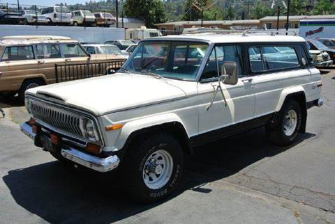 1976 Jeep Cherokee for sale at 1 Owner Car Guy in Stevensville MT