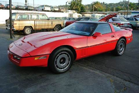 1984 Chevrolet Corvette for sale at 1 Owner Car Guy in Stevensville MT