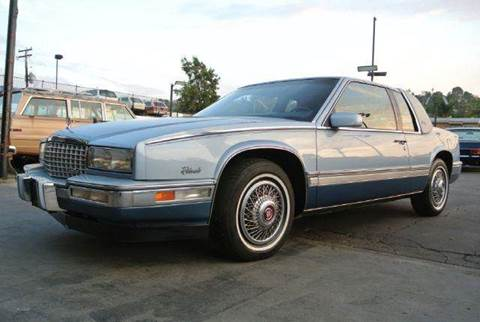 1988 Cadillac Eldorado for sale at 1 Owner Car Guy in Stevensville MT