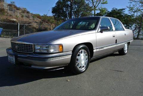 1996 Cadillac DeVille for sale at 1 Owner Car Guy in Stevensville MT