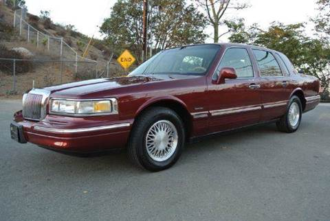 1997 Lincoln Town Car for sale at 1 Owner Car Guy in Stevensville MT