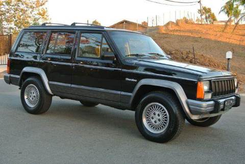 1995 Jeep Cherokee for sale at 1 Owner Car Guy in Stevensville MT