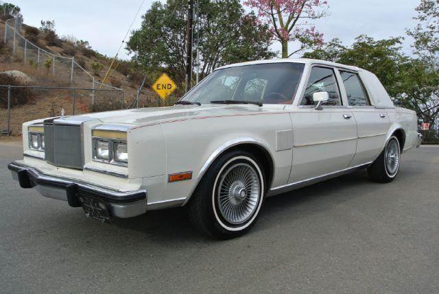 1986 chrysler fifth avenue in el cajon ca 1 owner car guy. Black Bedroom Furniture Sets. Home Design Ideas
