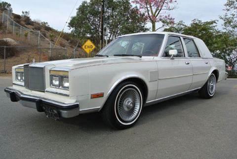 1986 Chrysler Fifth Avenue for sale at 1 Owner Car Guy in Stevensville MT
