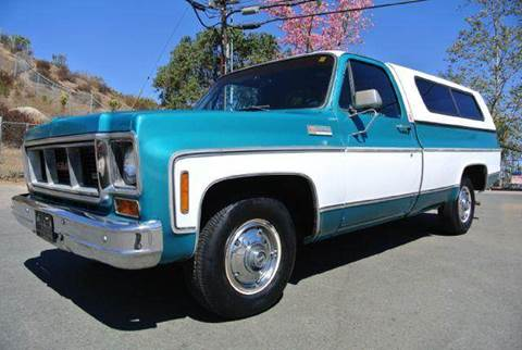 1973 GMC Sierra 1500 for sale at 1 Owner Car Guy in Stevensville MT