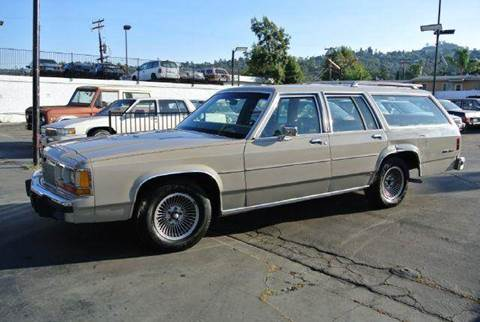 1988 Ford LTD Crown Victoria for sale at 1 Owner Car Guy in Stevensville MT