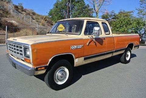 1981 Dodge RAM 250 for sale at 1 Owner Car Guy in Stevensville MT