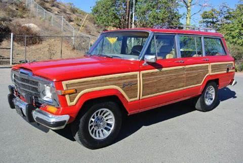 1987 Jeep Grand Wagoneer for sale at 1 Owner Car Guy in Stevensville MT