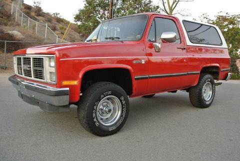 1988 GMC Jimmy for sale at 1 Owner Car Guy in Stevensville MT