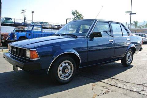 1982 Toyota Corolla for sale at 1 Owner Car Guy in Stevensville MT
