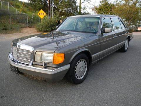 1986 Mercedes-Benz 560-Class for sale at 1 Owner Car Guy in Stevensville MT