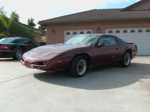 1992 Pontiac Firebird for sale at 1 Owner Car Guy in Stevensville MT