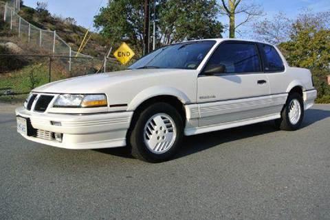 1989 Pontiac Grand Am for sale at 1 Owner Car Guy in Stevensville MT