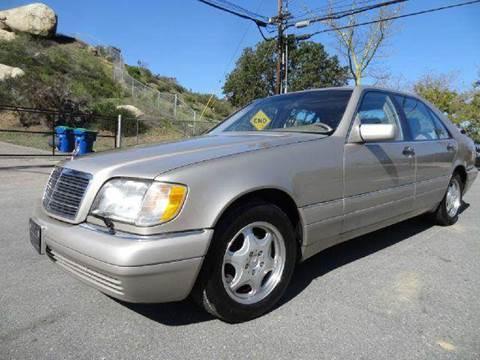 1997 Mercedes-Benz S-Class for sale at 1 Owner Car Guy in Stevensville MT
