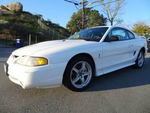 1998 Ford Mustang for sale at 1 Owner Car Guy in Stevensville MT