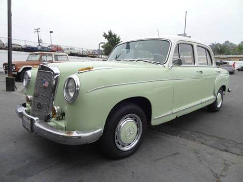 1957 Mercedes-Benz S-Class for sale at 1 Owner Car Guy in Stevensville MT