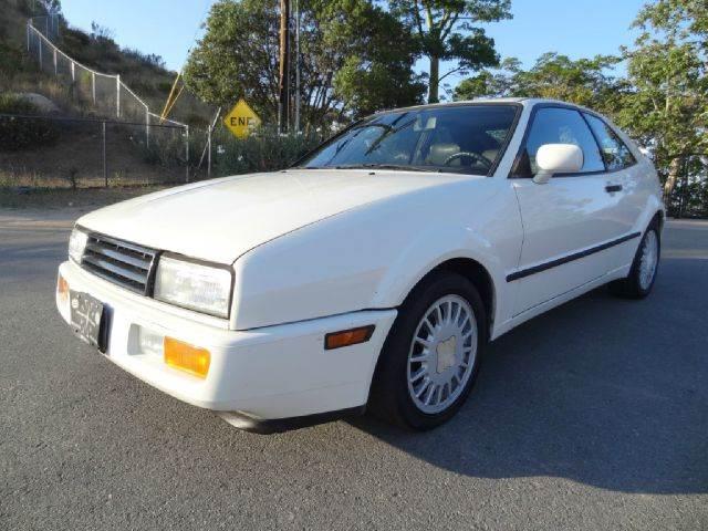 1990 Volkswagen Corrado for sale at 1 Owner Car Guy in Stevensville MT